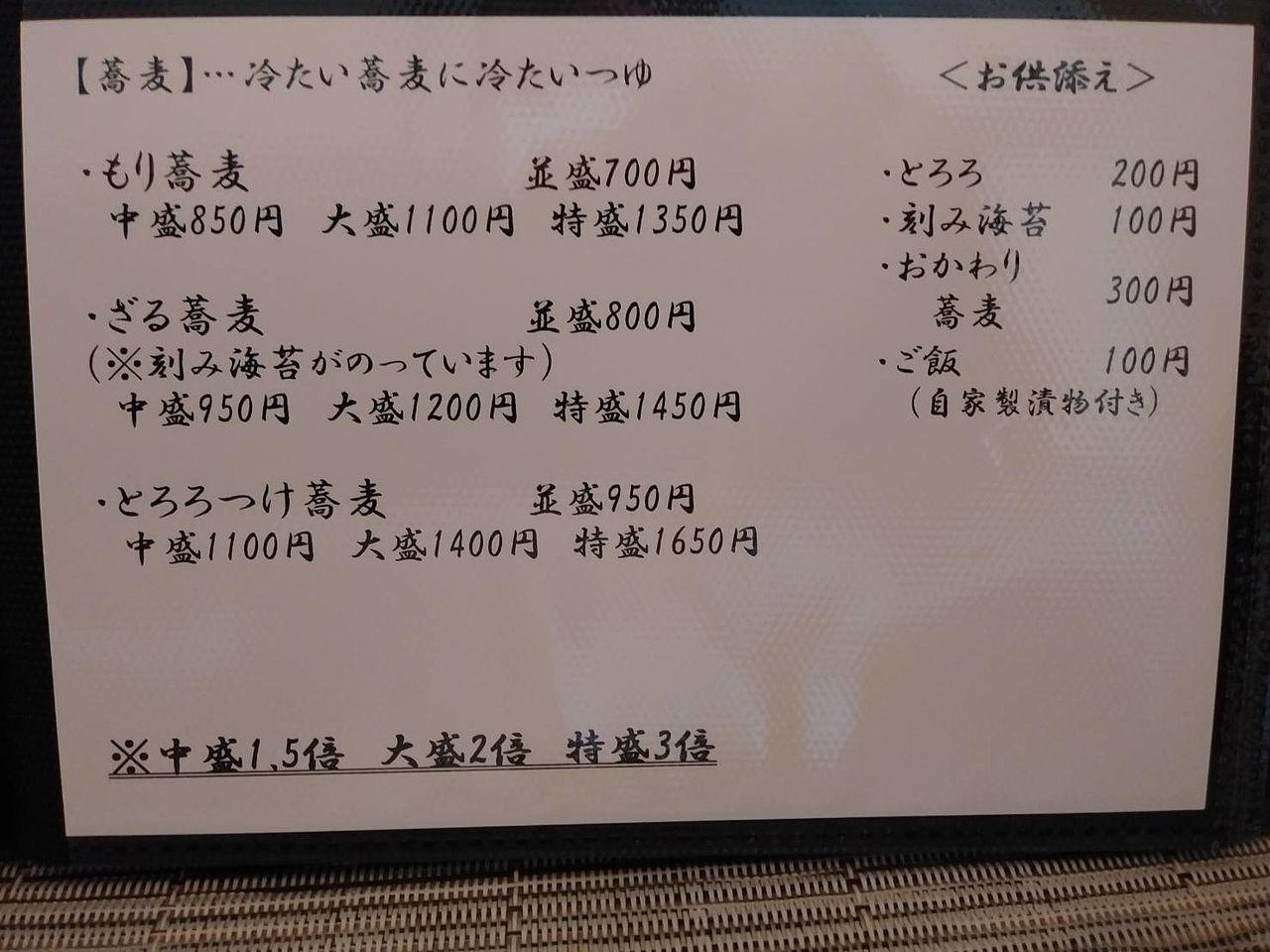 夏は蕎麦をつまみに日本酒なんてお客も受け入れられるようにコロナが収まることを願います。