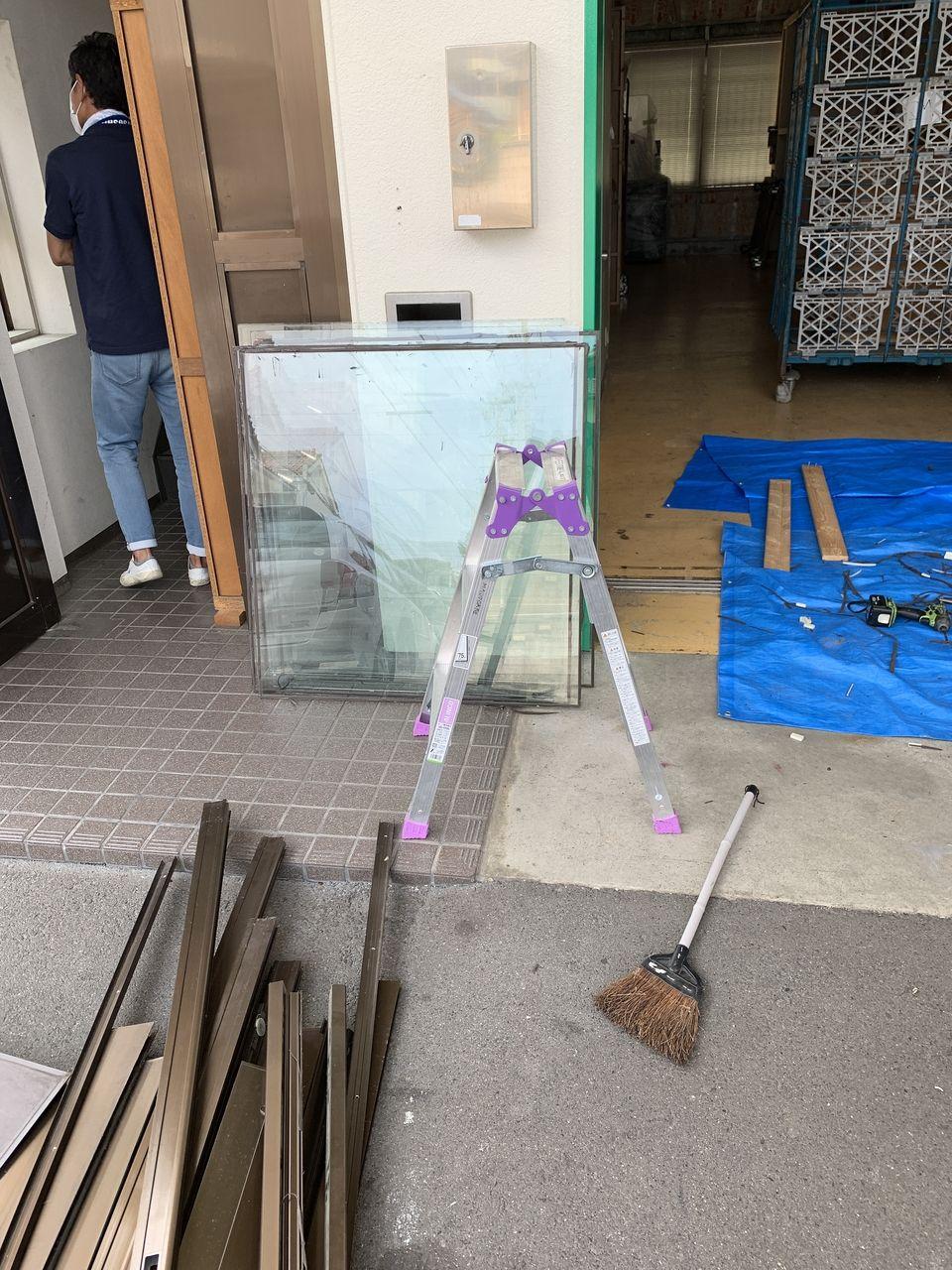 遠足は家につくまでが遠足です。窓工事は片付け完了までが窓工事です!?